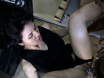 Latina Claudia Wide Pussy Spreading